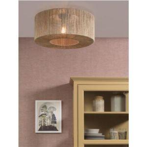 jute plafondlamp, lampen happy home