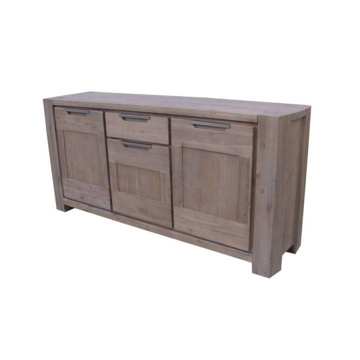 acacia meubelen dressoir