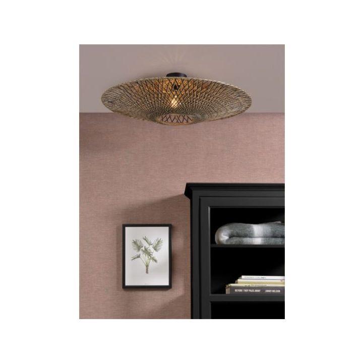 bamboe plafondlamp, happy home lampen