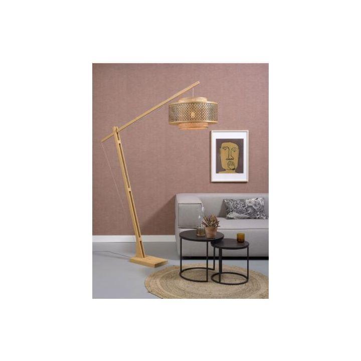 vloerlamp van bamboe, staande lamp happy home