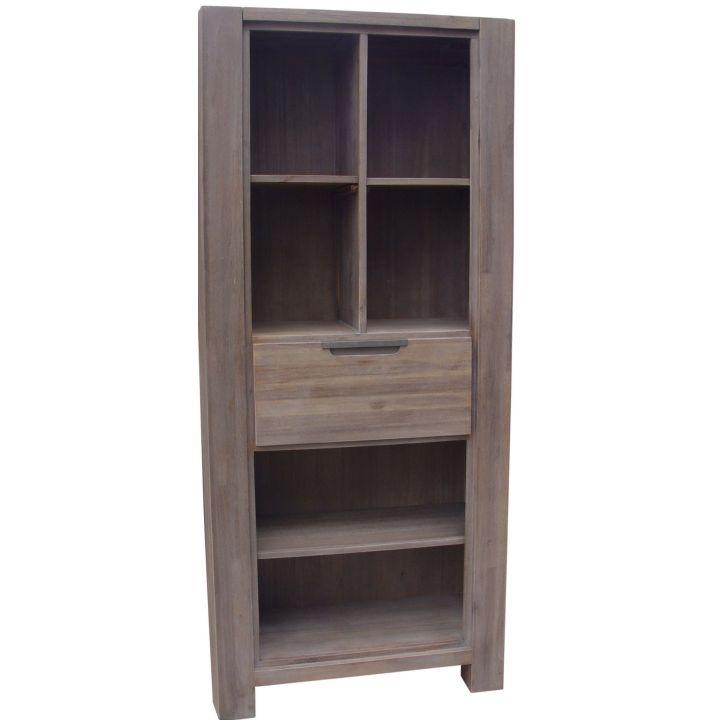 acacia meubelen boekenkast