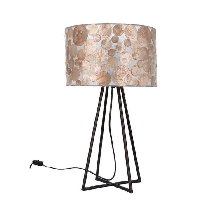 Tafellamp capri schelpen