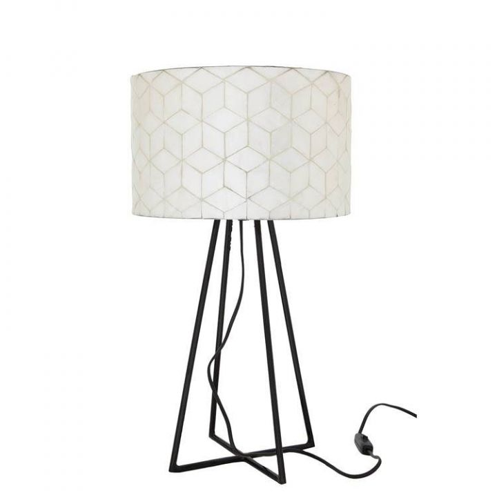 Tafellamp capri wit