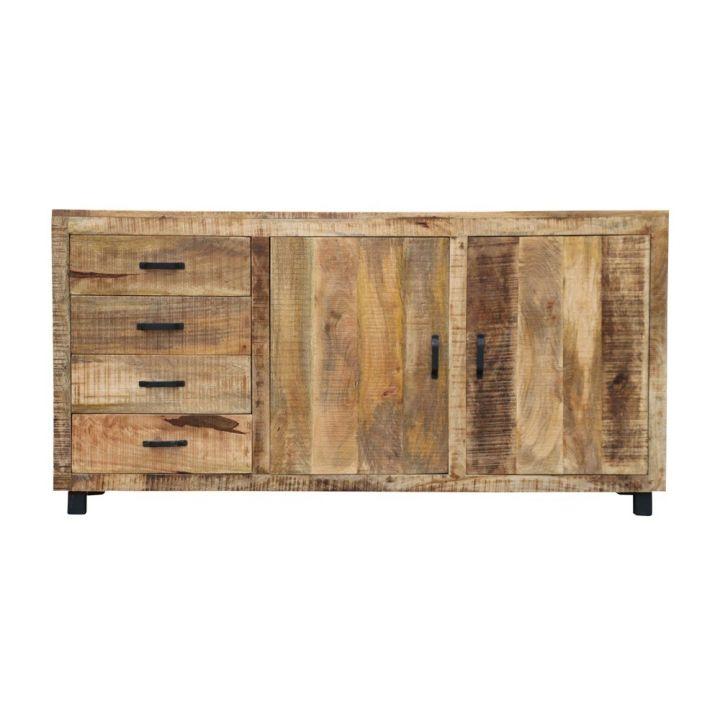 mangohout, vintage dressoir