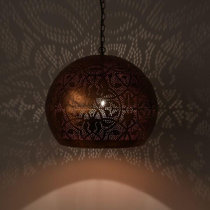 filigrain hanglamp open oosters koper