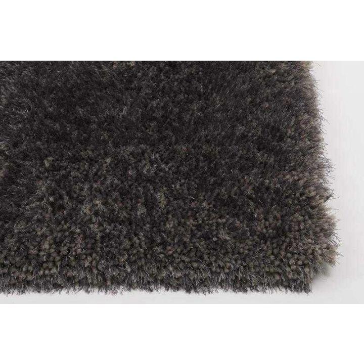 Karpet Residence, hoogpolig vloerkleed grijs