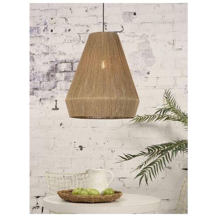 jute hanglamp natural