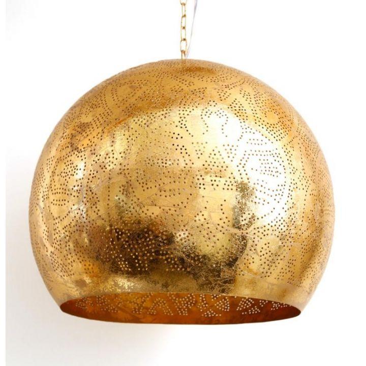 filigrain hanglamp open XL goud