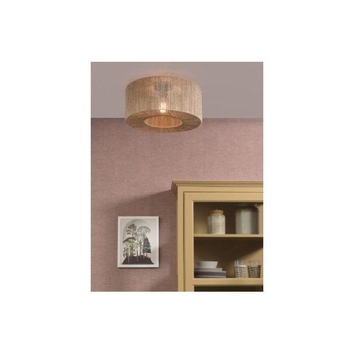 jute plafondlamp, plafonnière happy home