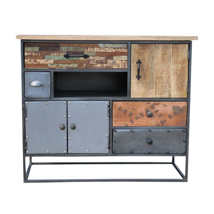kastje vintage, industriële meubels