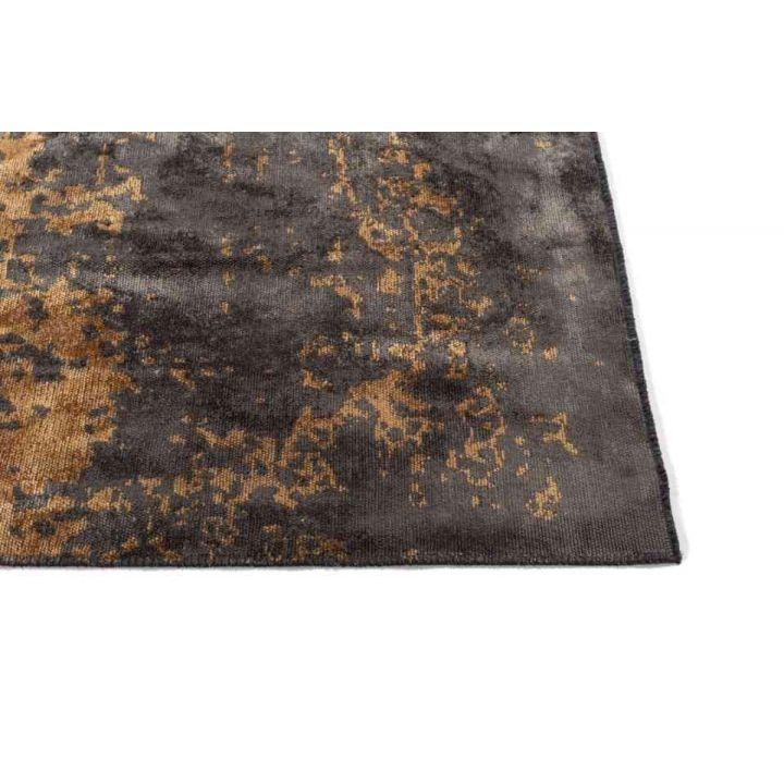 karpet Russel goud, vloerkleed happy home