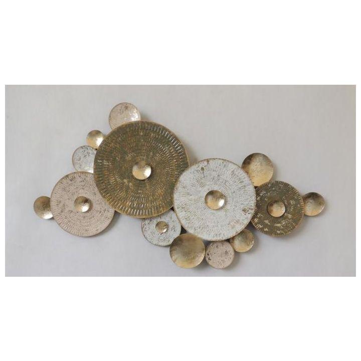 Metalen wanddecoratie, wandornament metaal