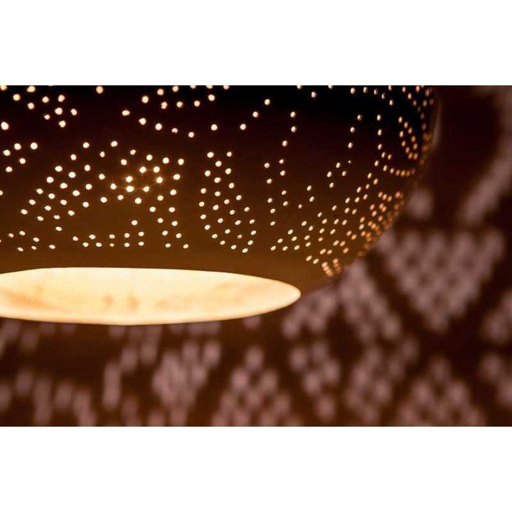 filigrain hanglamp pompoen