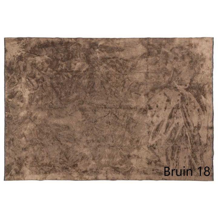 karpet laagpolig bruin