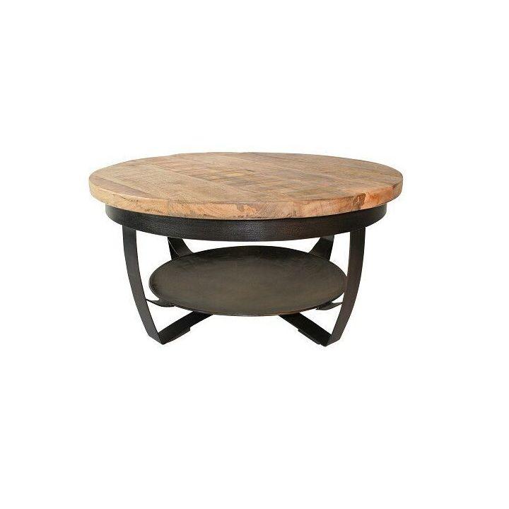 Vintage meubels, vintage salontafel, industriele salontafel