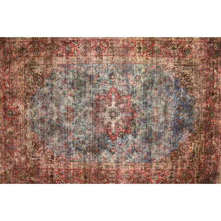 Vintage vloerkleed, karpet vintage Happy Home