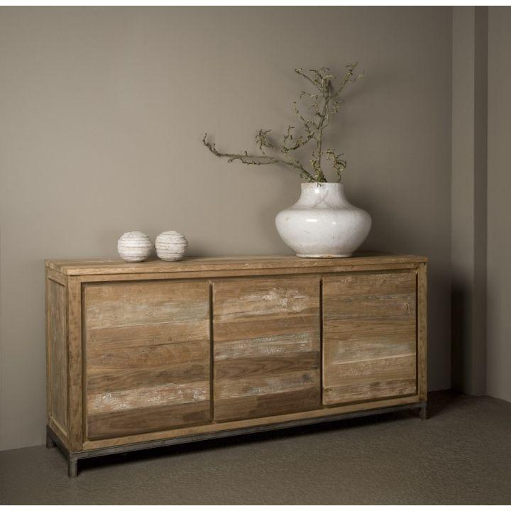 teak houten dressoir