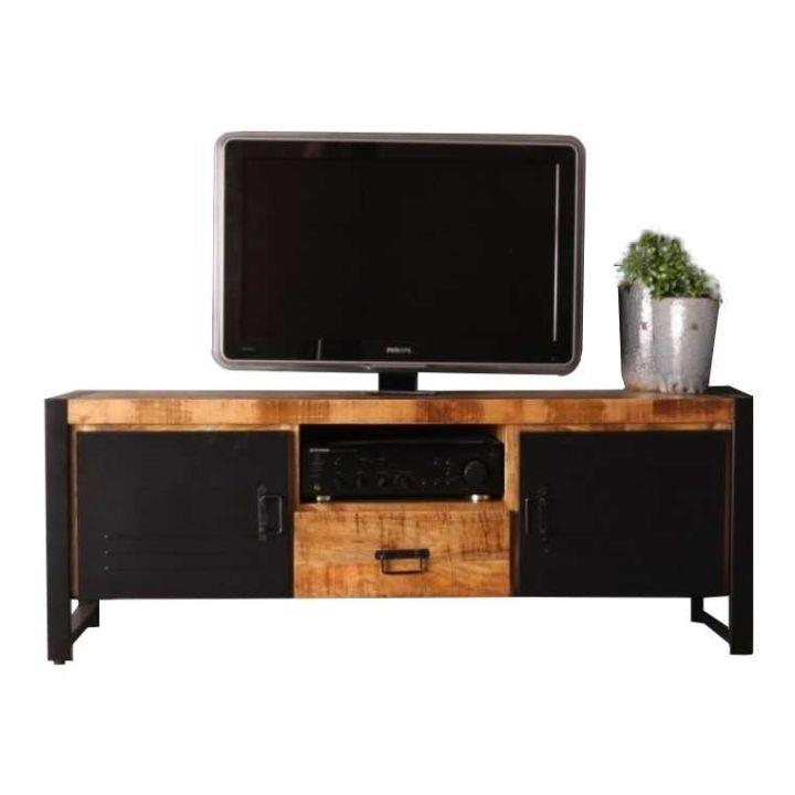 tv kast mangohout