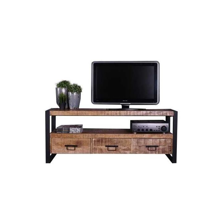 Mangohouten tv meubel 150