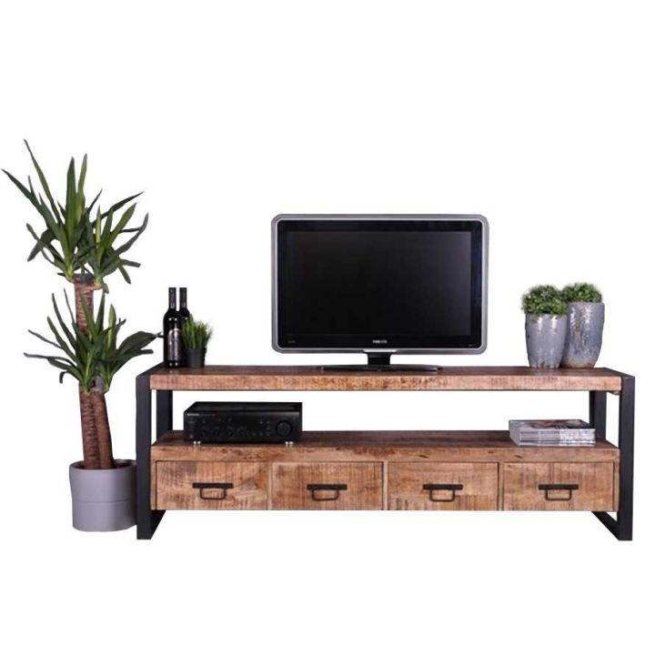 Tv meubel mangohout 180