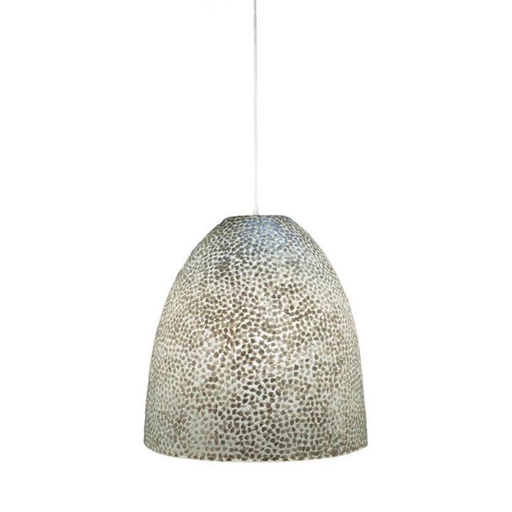 hanglamp bell capizen schelpen happy home